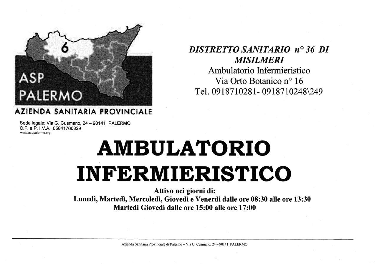 Apertura Ambulatorio Infermieristico Distrettuale 3