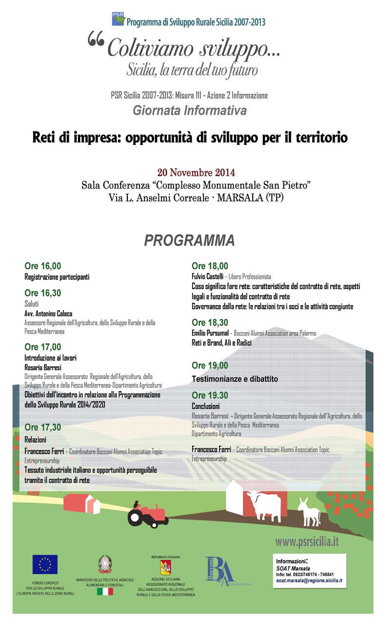 Finale-Locandina Marsala 20 novembre