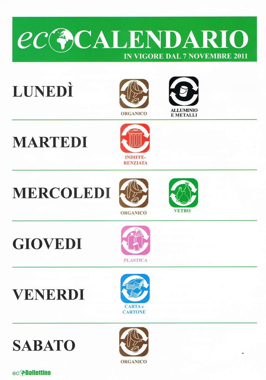 Raccolta Differenziata Palermo Calendario.Comune Di Marineo Eco Calendario