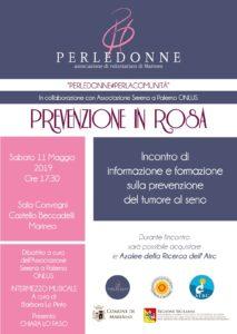 prevenzione in rosa